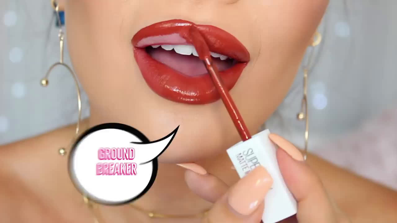 Maybelline SUPERSTAY MATTE INK LIP | THE MAKEUP SUPERPOWER advert