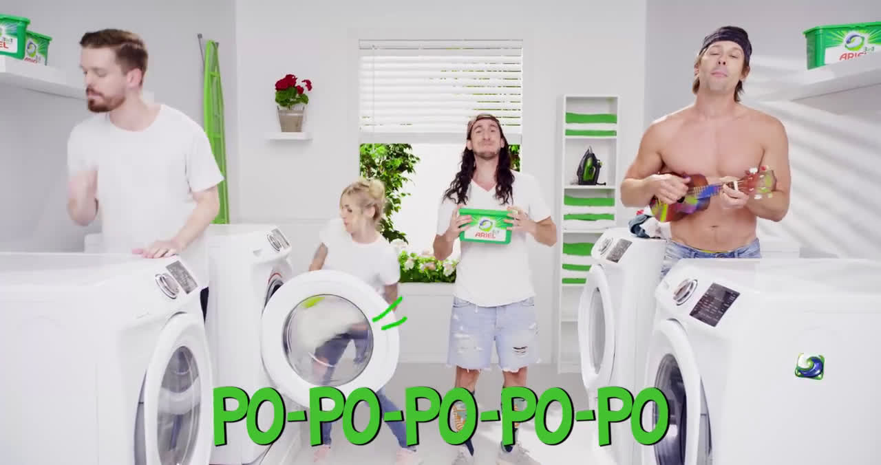 Ariel Do you Pod? Walk off The Earth Shows You How! advert