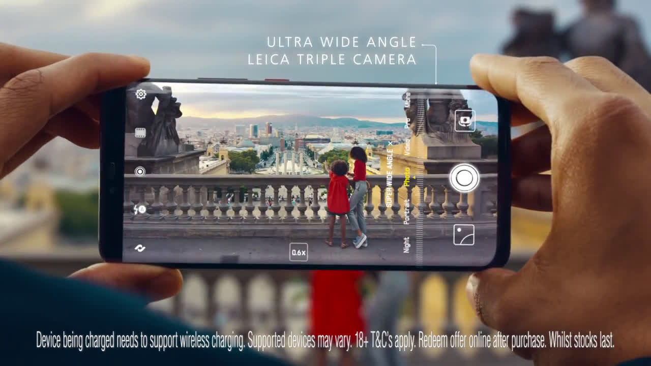Huawei Introducing the HUAWEI Mate 20 Pro advert