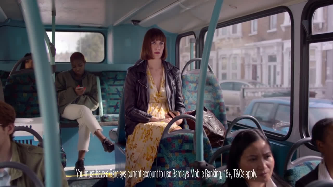 Barclays Mobile Banking | Card Freeze advert