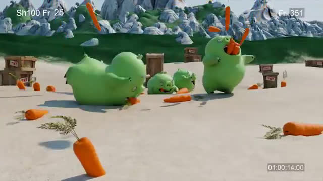 McDonalds  Happy Meal Angry Birds Advert