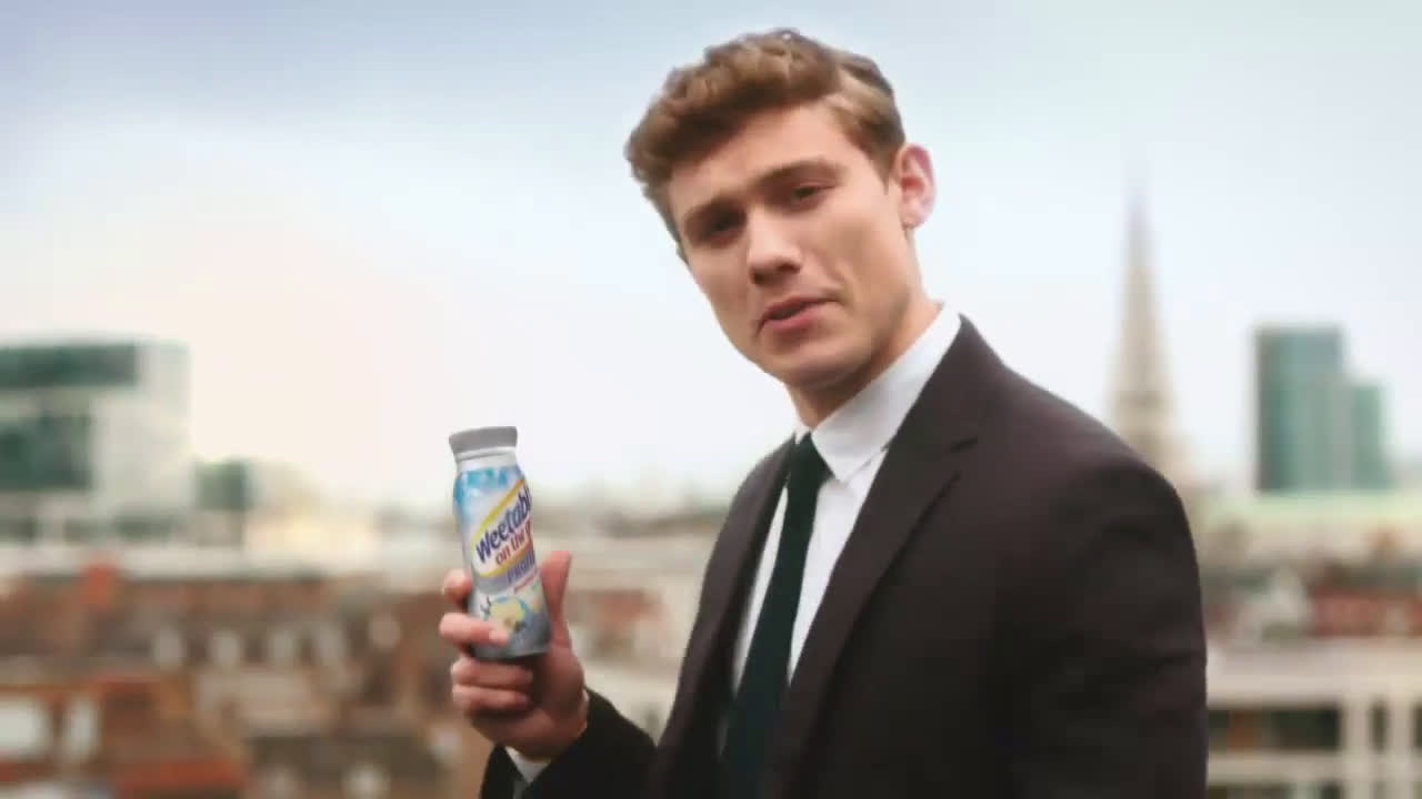 Weetabix On The Go High Protein Advert