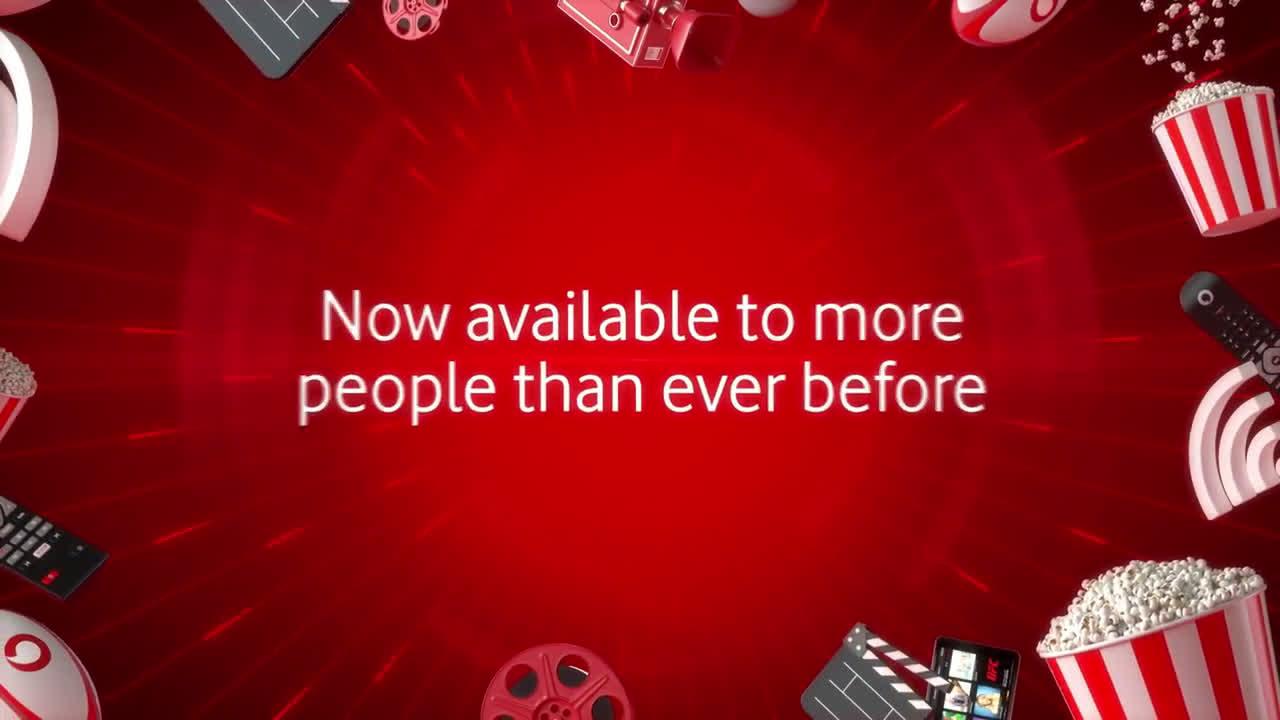 Vodafone TV & Broadband Advert