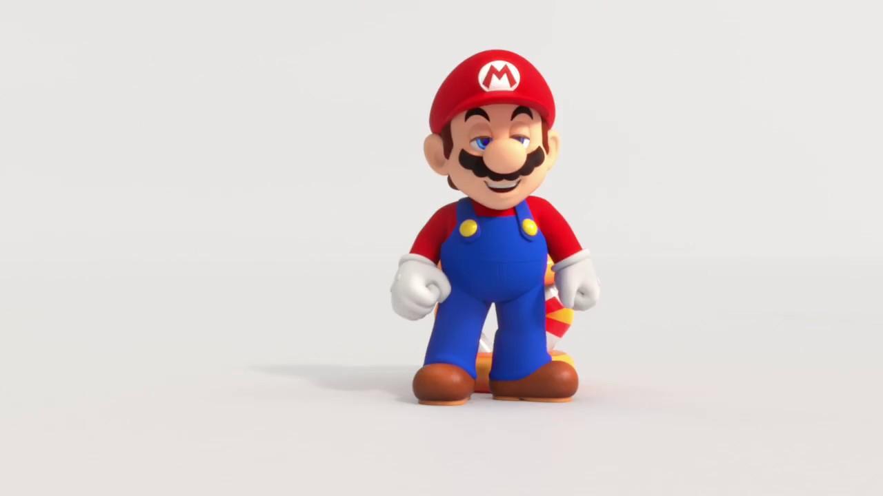 McDonalds Super Mario Happy Meal Advert