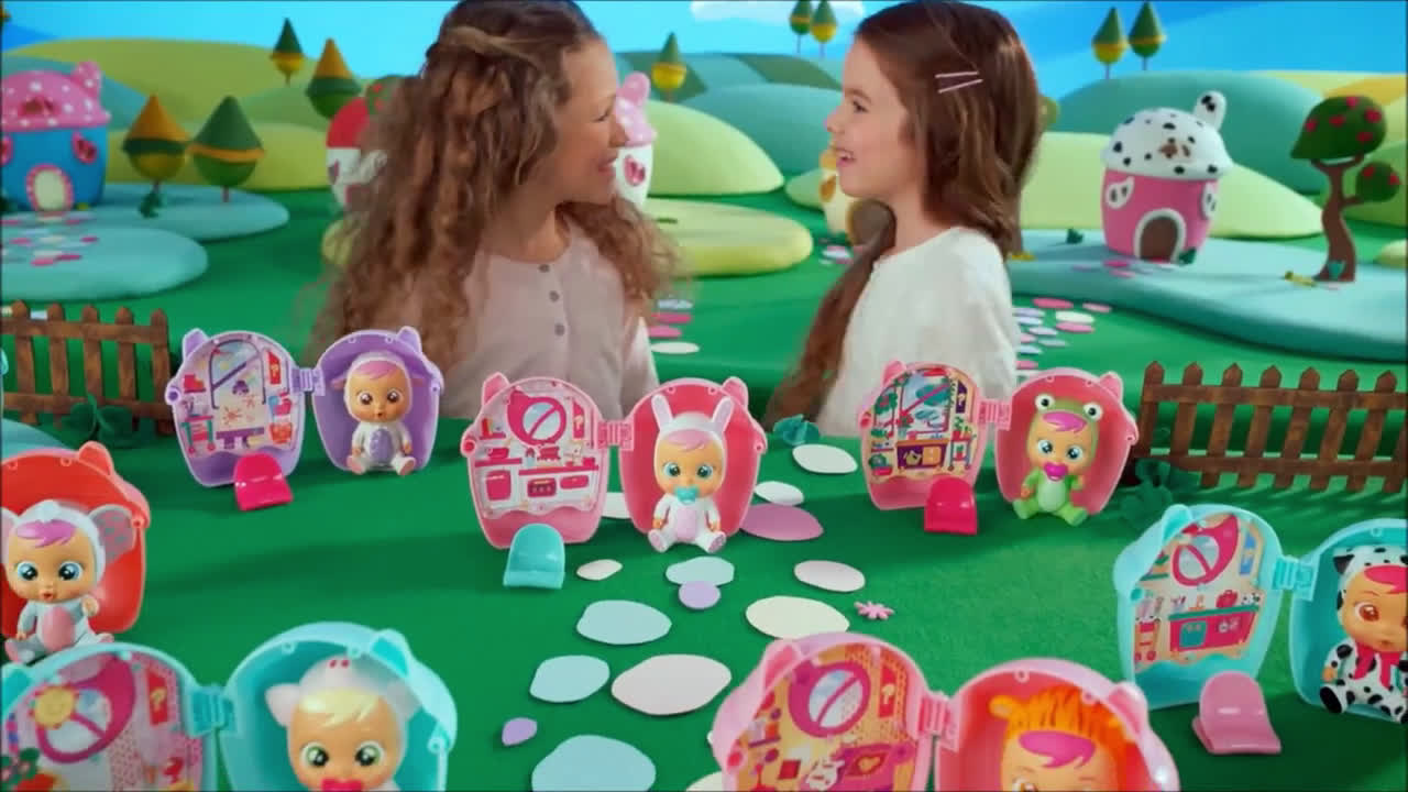 Smyths Toys Cry Babies Magic Tears Assortment Advert