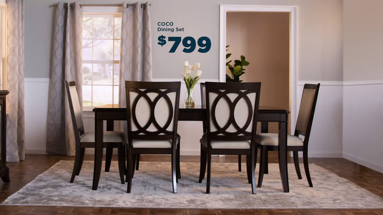 dining room sets bobs furniture - table dining room
