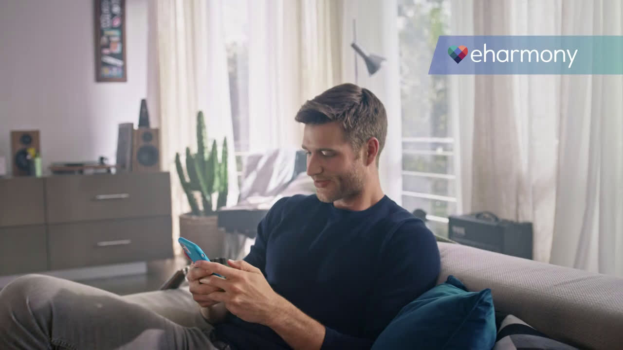 eHarmony dating from anywhere Ad Commercial on TV