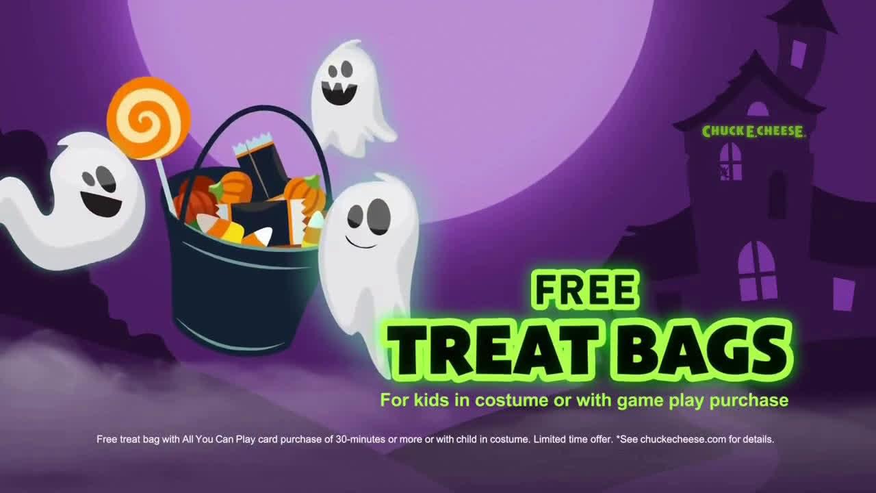 Halloween 2020 Commercials ▷ Chuck E. Cheese´s Halloween BooTacular   Safely Celebrate Ad