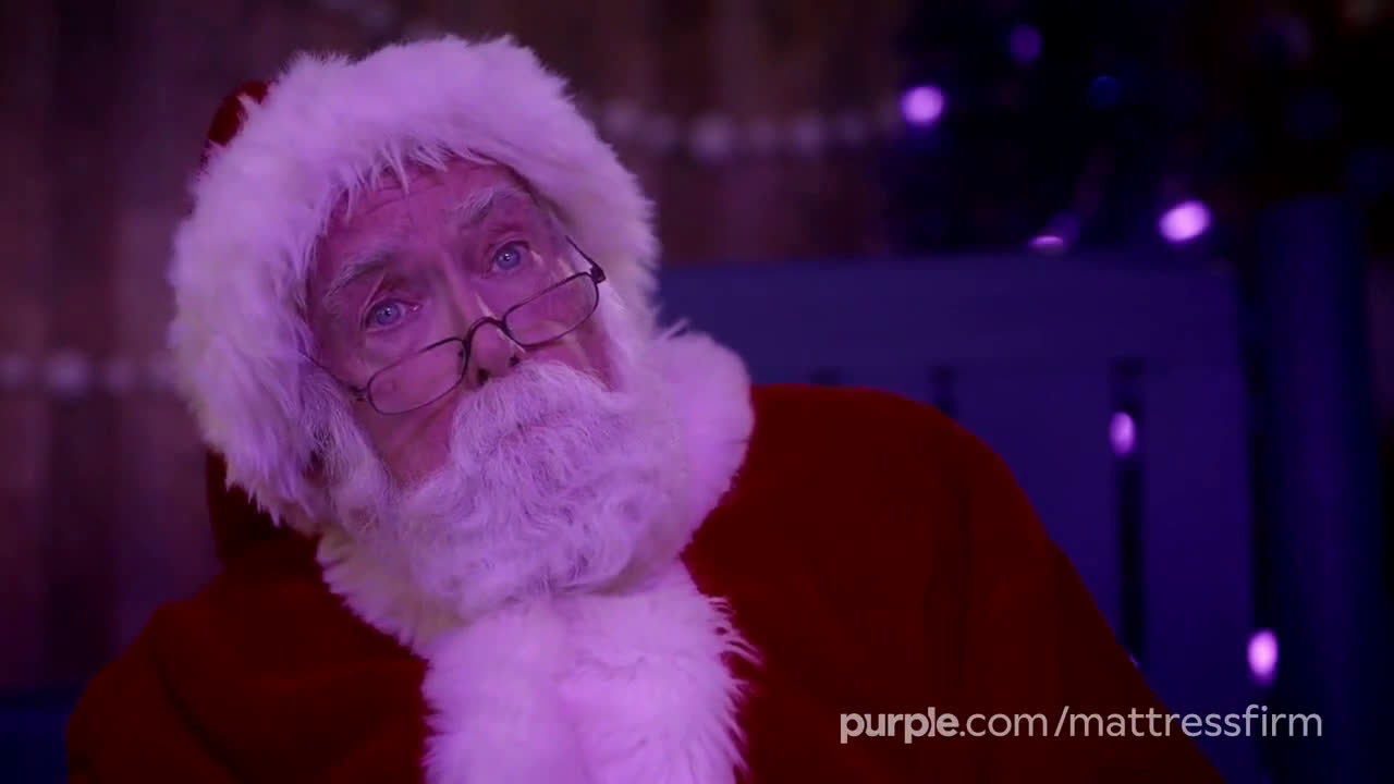 Purple Mattress Holidays Santa Claus Save Up To 400 Ad Commercial On Tv