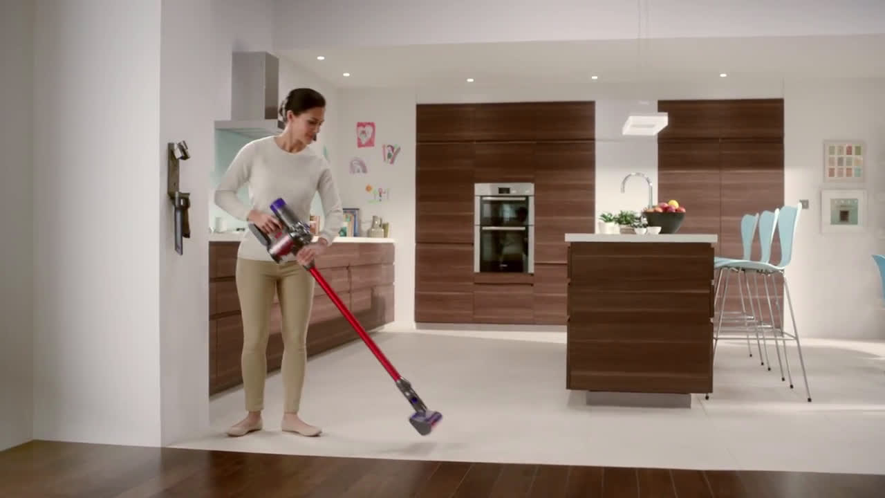 Dyson V8 Cord Free Ad Commercial On Tv