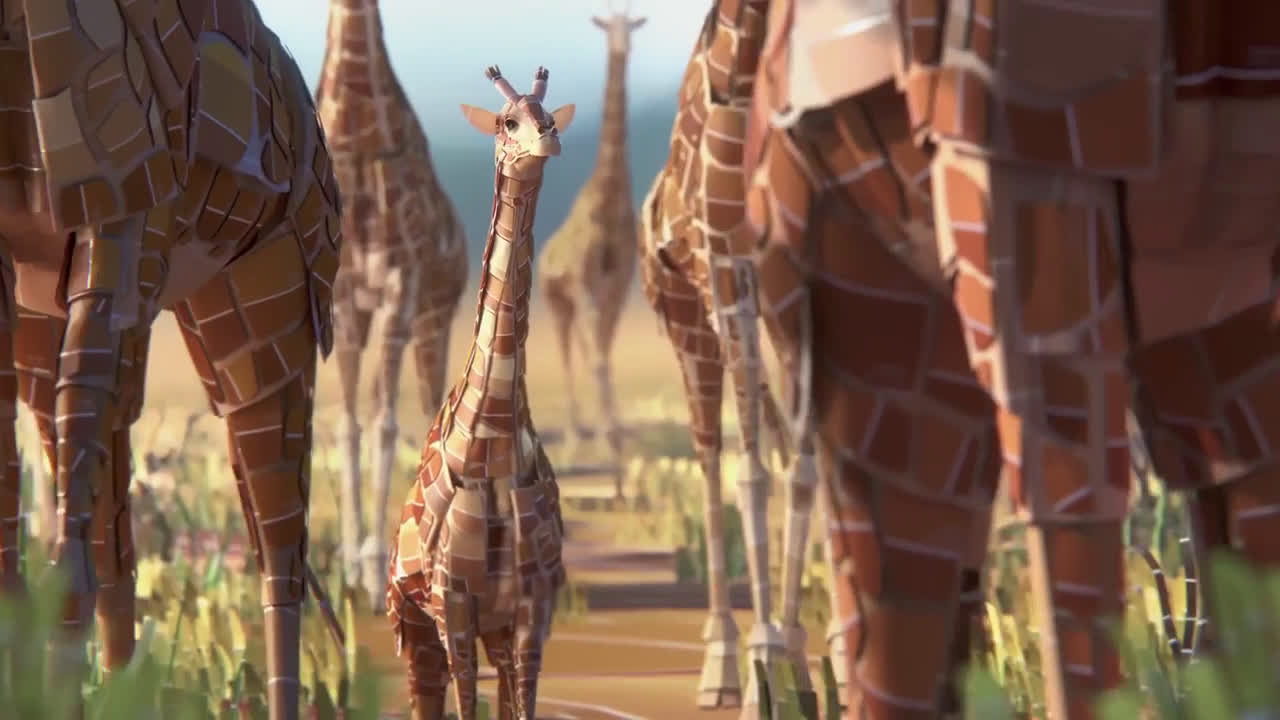 Sherwin Williams Auto Paint >> Sherwin Williams Safari Animated Ad Commercial on TV