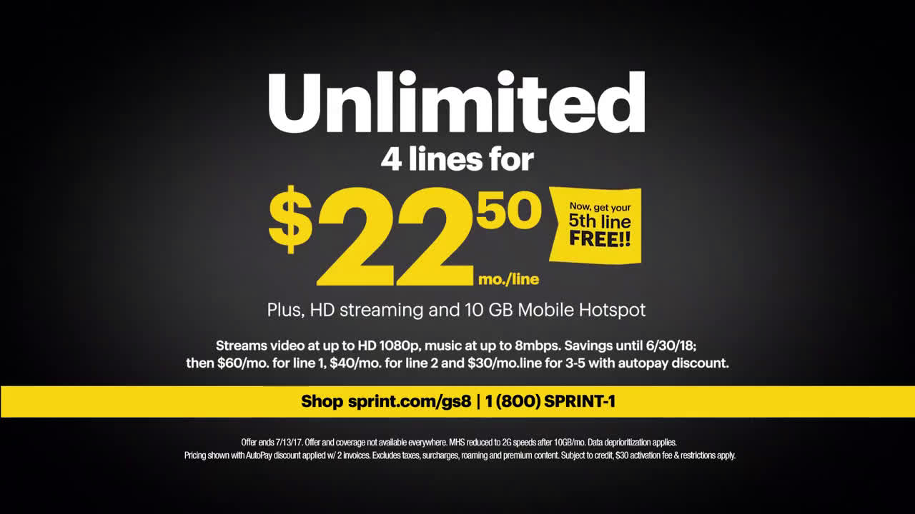 ▷ Sprint Save 50% instantly, lease a Samsung Galaxy S8