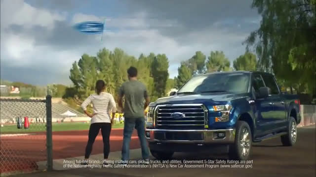 Ford F 150 Xlt Mom And Dad In Football Training Champions Ad