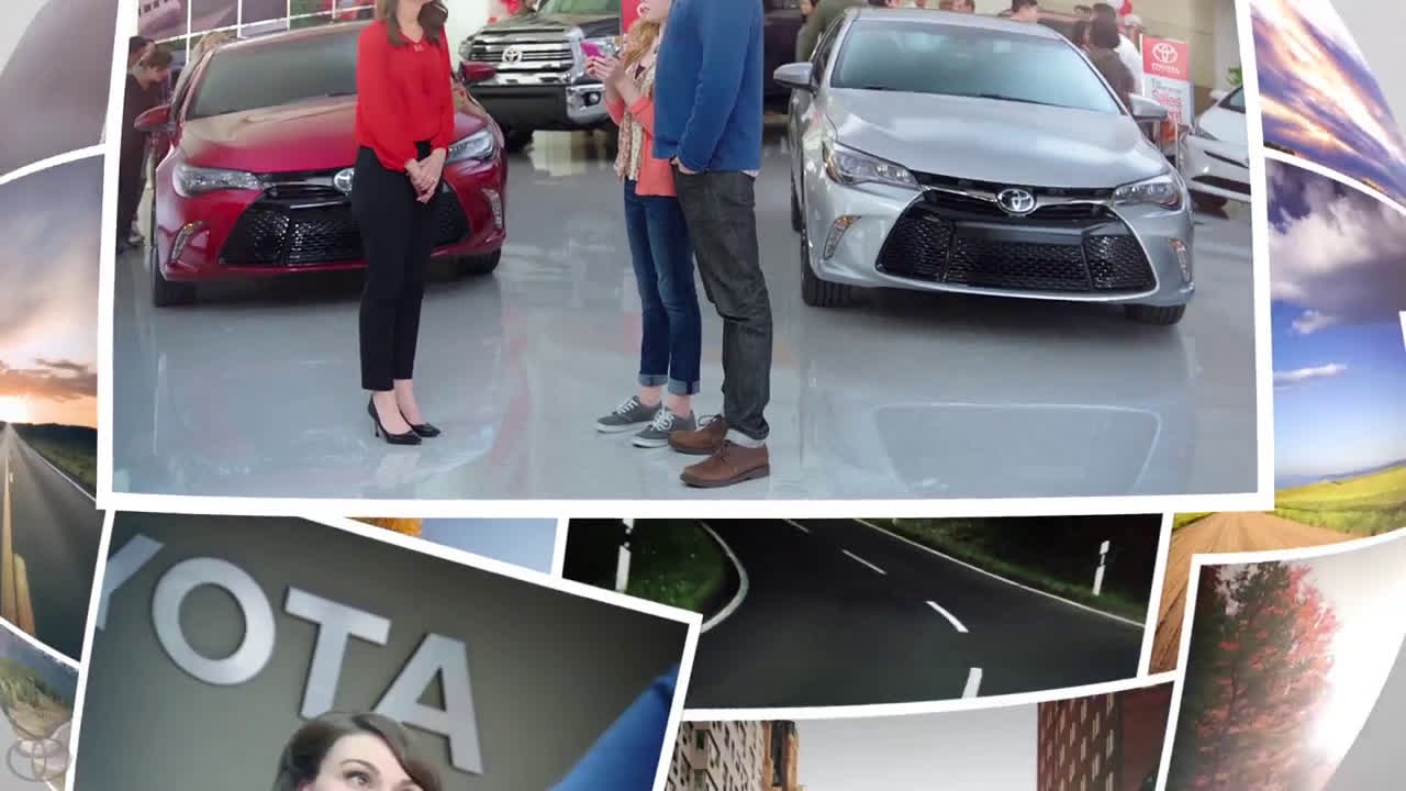 Toyota Camry S At 1 For Everyone Event Backup Camera Ad Commercial On Tv 2016