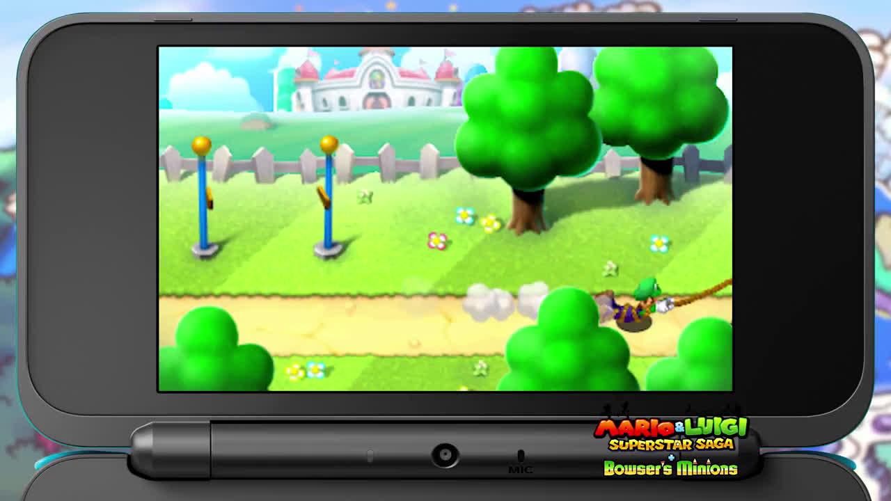 3ds Mario Luigi Superstar Saga Bowser S Minions