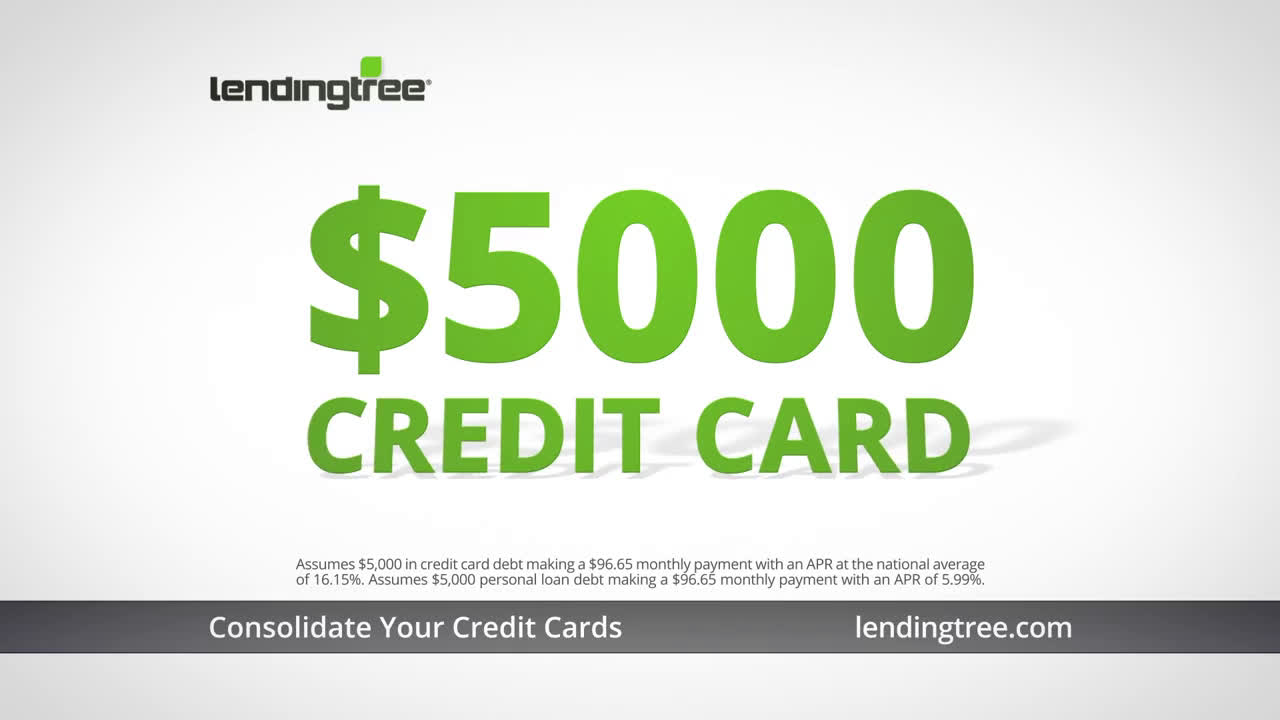 LendingTree Personal Loans - Holiday Credit Card Debt Ad Commercial on TV