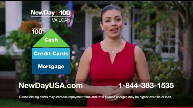 NewDay USA Tatiana: Straight Ahead Outside Ad Commercial on TV