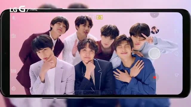 ▷ LG BTS: Super Wide Angle Camera Ad Commercial on TV