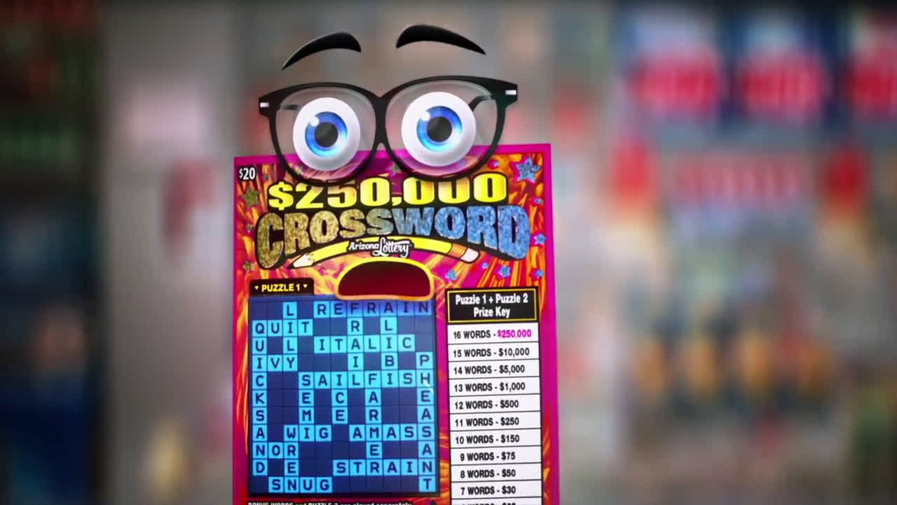 ▷ Bingo and Crossword Scratchers® Second Chance Trailer
