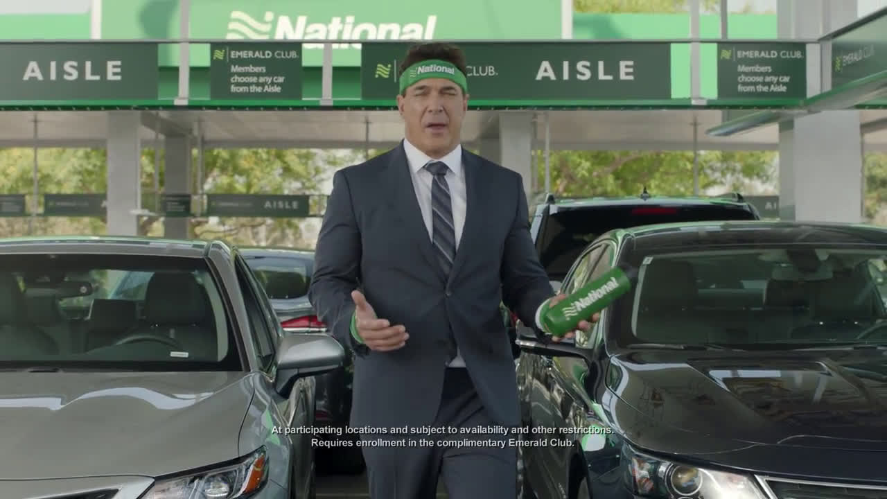 National Car Rental Lose The Wait Ad Commercial On Tv