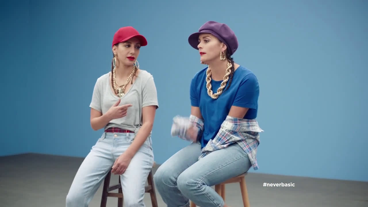 ▷ Old Navy Tees: Cecily Strong & Nasim Pedrad + Rappers Ad ...