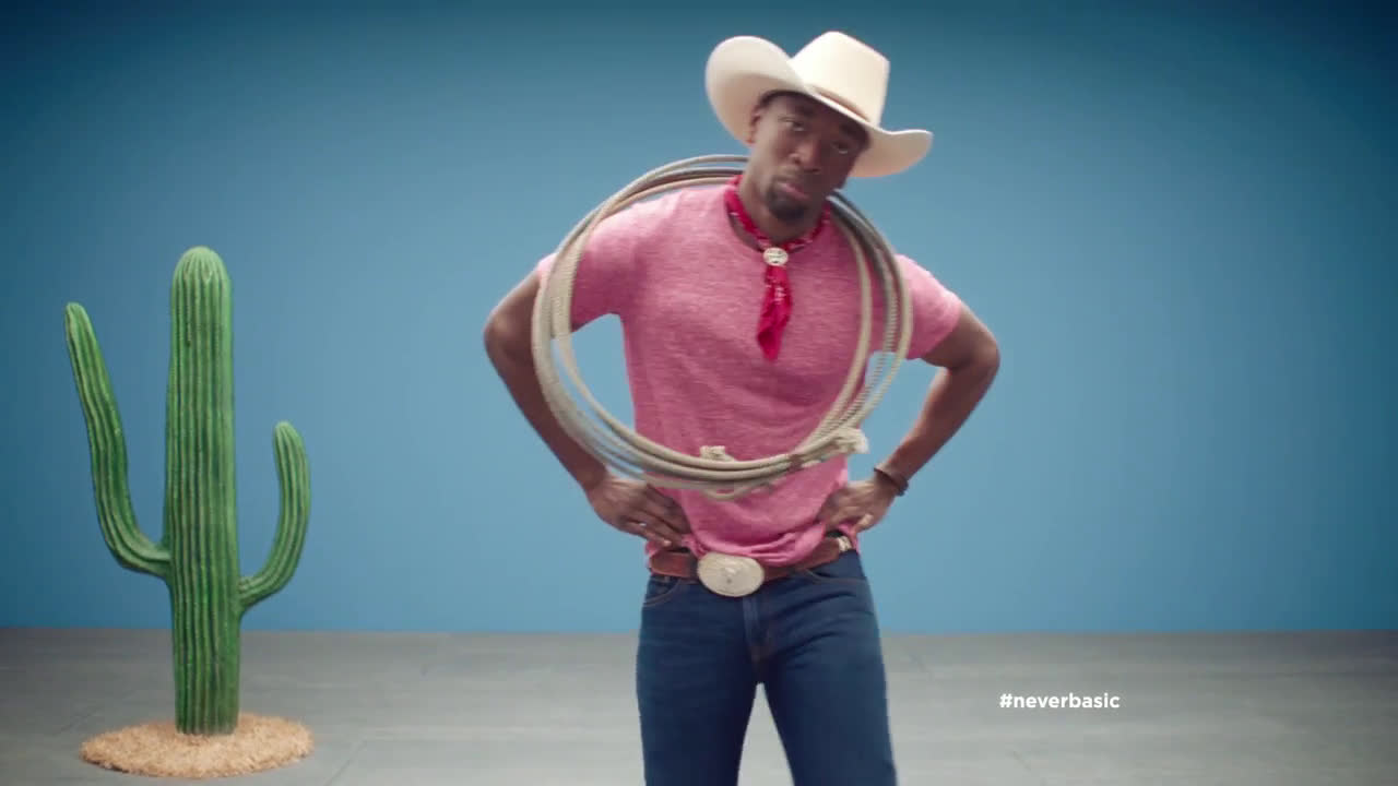 ▷ Old Navy Tees: Jay Pharoah + Cowboy Ad Commercial on TV
