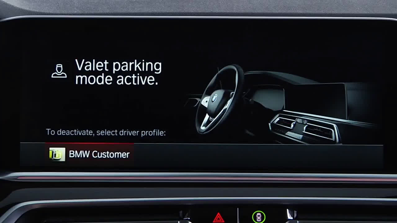 ▷ BMW Valet Parking Mode In iDrive 7 | BMW Genius How-To Ad