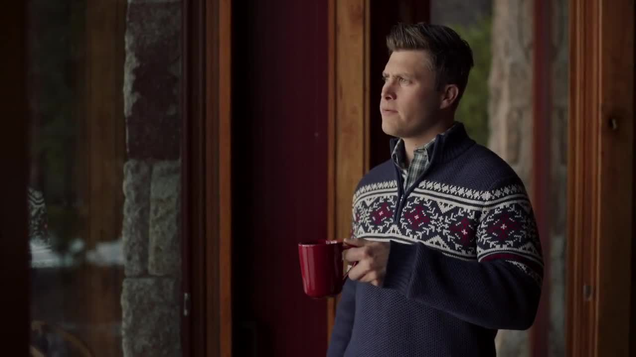 Izod Holiday 2018 Sweater Weather Featuring Comedian Colin Jost Ad Commercial On Tv
