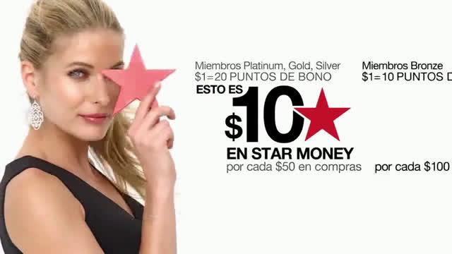 Macy´s Días Star Money - Miembros Commercial c527d2ef1