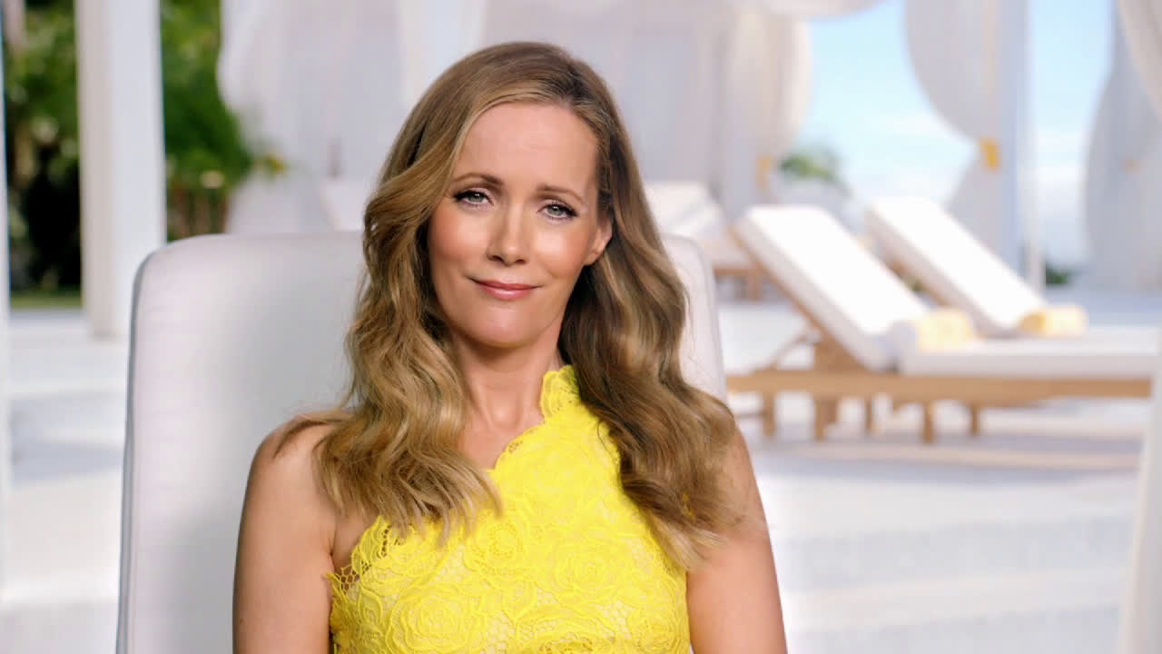 Jergens Leslie Mann On Getting A Swimsuit Ready Glow Ad