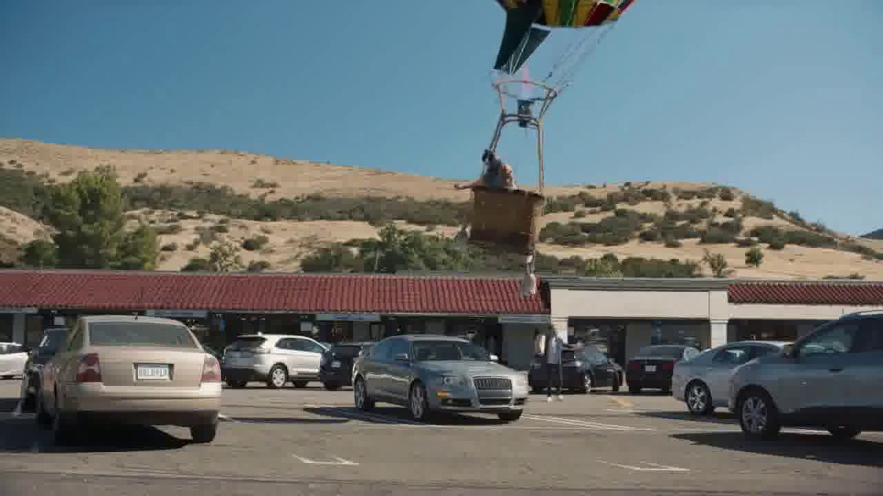 Farmers Insurance Hall of Claims: Fly-By Ballooning Ad ...