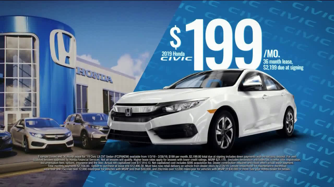 Honda Civic Commercial >> Honda Trade Save 2019 Civic Ad Commercial On Tv 2019