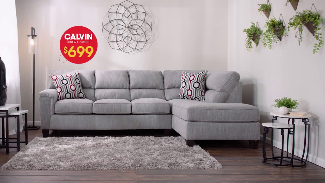 Excellent Bobs Discount Furniture Calvin Sofa Loveseat For Only Beutiful Home Inspiration Truamahrainfo