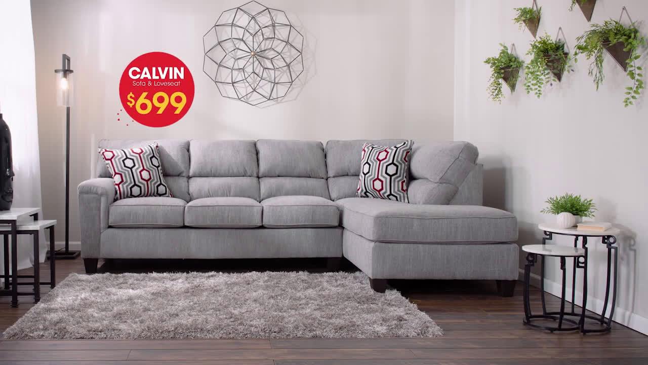 Super Bobs Discount Furniture Calvin Sofa Loveseat For Only Download Free Architecture Designs Intelgarnamadebymaigaardcom