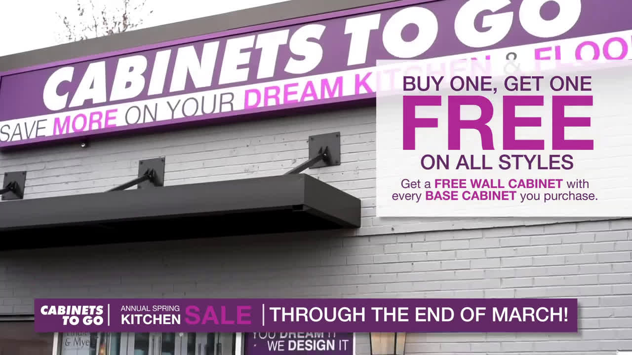 Cabinets To Go Annual Spring Kitchen Clearance Sale Ad Commercial On Tv