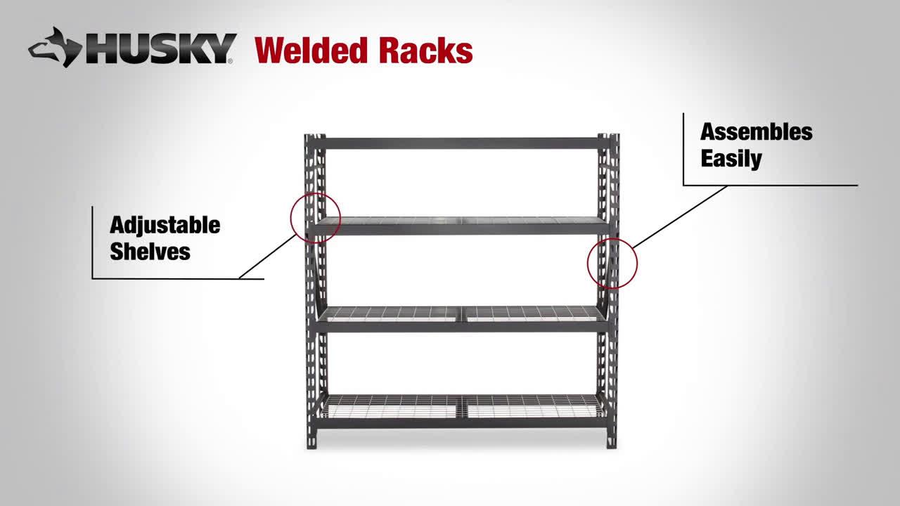 The Home Depot Husky Welded Rack Garage Storage Ideas