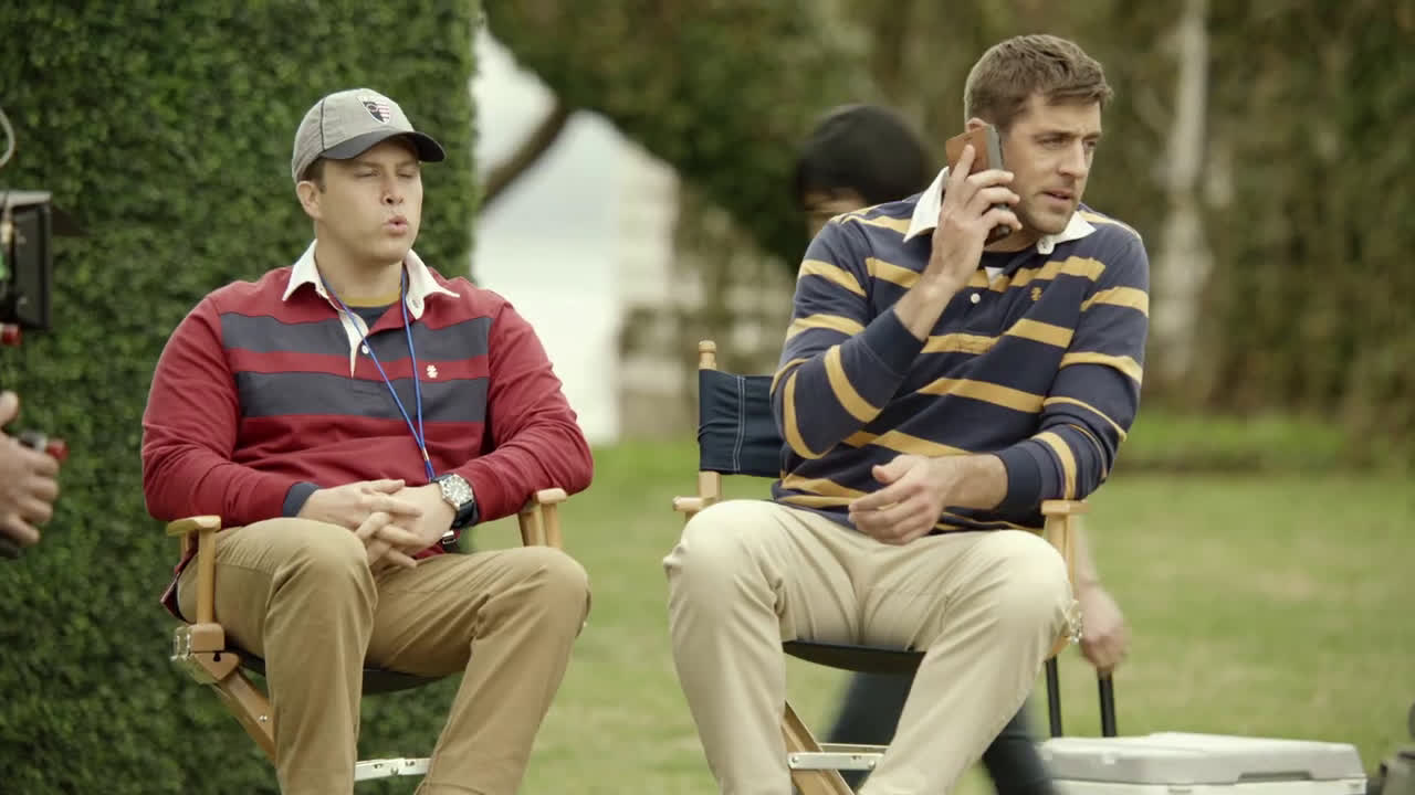 Izod Fall 2019 Bts Football Song With Aaron Rodgers And Colin Jost Ad Commercial On Tv