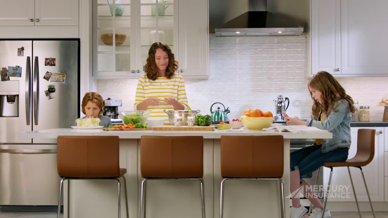 Mercury Insurance Dinner Ad Commercial on TV 2020
