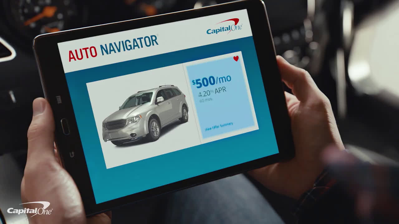 Capital One New car Ad Commercial on TV 10 - Video