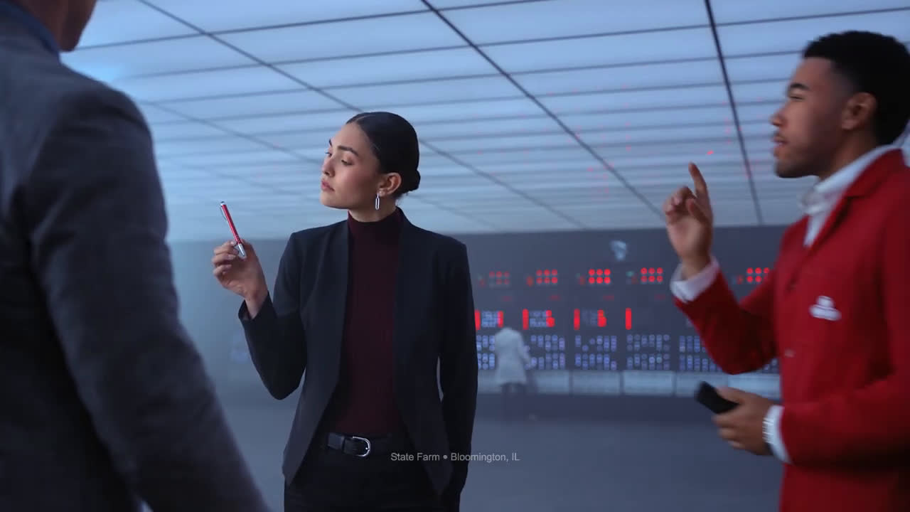 State Farm dark gun Ad Commercial on TV